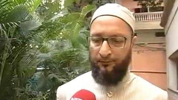 Video : Cases against Akbaruddin show govt's 'communal bend of mind': Asaduddin Owaisi