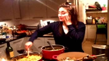 Video : Kareena, the homemaker