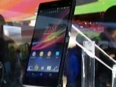 Sony makes a big noise at CES with its Xperia Z and Xperia ZL