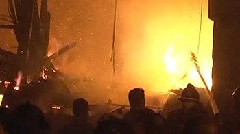 Video : मुंबई : माहिम की झुग्गियों में आग, पांच मरे