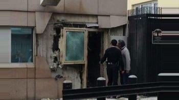 Video : 2 killed in blast near US embassy in Turkey