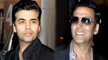 Video : Akshay to act in Karan Johar film