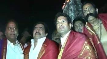 Videos : तिरुपति बालाजी का दर्शन करने पहुंचे तेंदुलकर