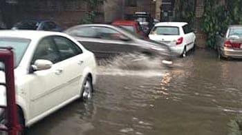 Video : Heavy rains lash Delhi overnight, hailstorm in Faridabad
