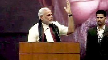 Video : Narendra Modi at SRCC: talking business or talking politics?