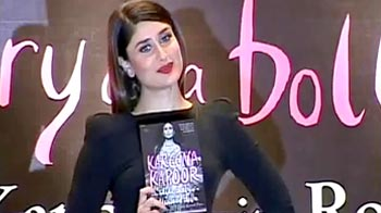 Video : Kareena launches her first book