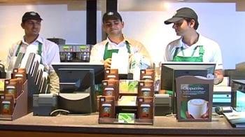 Video : Starbucks gets a new address in Delhi