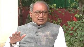 Video : Don't politicise the issue of Afzal Guru's execution: Digvijaya Singh to NDTV