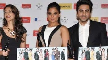 Video : Stars queue up at the unveiling of special Filmfare issue