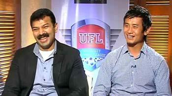 Video : Nirmal & Baichung Bhutia to promote University Football League