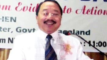 Video : Nagaland Home Minister detained; 1 crore in cash, arms seized from his car