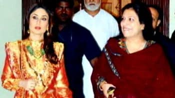Video : Kareena attends Pataudi family wedding