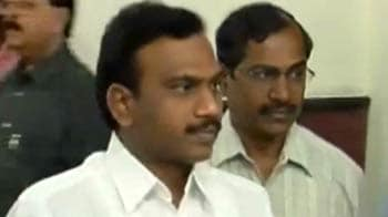 Video : 2G scam: Ex-telecom minister A Raja wants to depose for MPs' committee