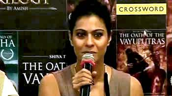 Video : Kajol, making bookworms look cool
