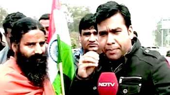 Video : देश को जल्द राजनीतिक विकल्प देंगे : रामदेव
