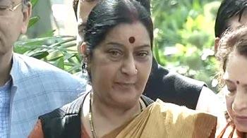 Video : Unimaginative, dull and boring budget: Sushma Swaraj