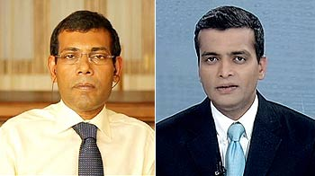 Video : 'India should intervene if I face arrest again': ex-Maldives President to NDTV