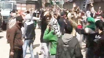 Video : One killed in firing by security forces in J&K