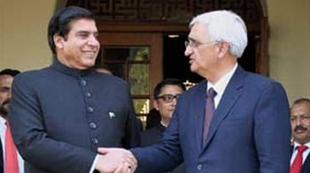 Video : For visiting Pak PM: lunch with Khurshid, protests in Ajmer