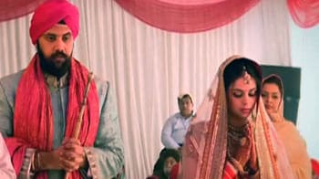 Video : A Bollywood inspired wedding for Harveen