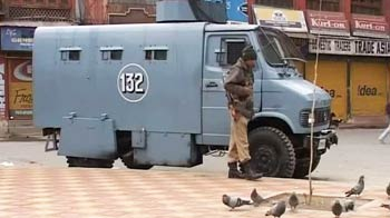 Video : Srinagar under curfew after protester dies in alleged firing by security forces