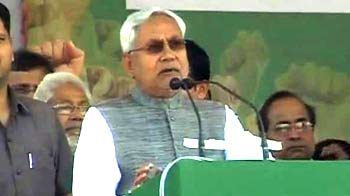 Video : Give Bihar 'special status' now, or you will have to give it in 2014: Nitish