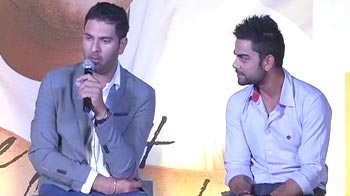 Video : Yuvraj Singh releases memoir on his fight with cancer