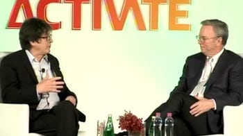 Video : The Google chief on which country he backs