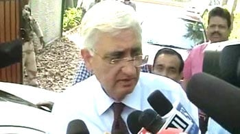 Video : 'Diplomacy continues to work': Foreign Minister Salman Khurshid