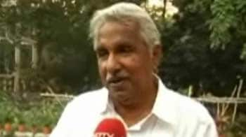 Video : No politics or emotions with marines: Oommen Chandy to NDTV