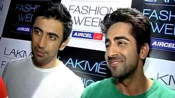 Ayushmann Khurrana, Amit Sadh ramp it up