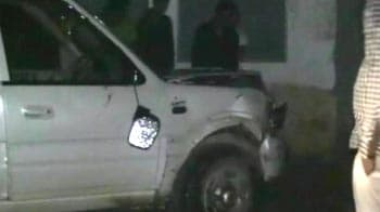 Video : 'Drunk' cops in SUV allegedly killed woman on Holi in Noida