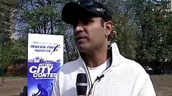 Video : Virender Sehwag shares his fitness tips with youngsters