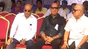 Video : Tamil Nadu film fraternity gathers to fast over Lankan Tamils issue