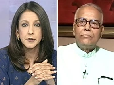 Video : Early elections not ruled out: Yashwant Sinha