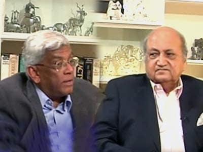 Video : Keshub Mahindra, Deepak Parekh honoured with Lifetime Achievement Awards