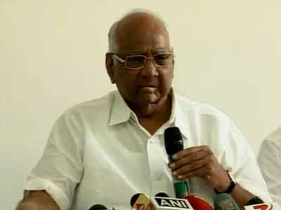 Video : Row over Ajit Pawar's remarks should end with his apology: Sharad Pawar