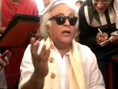 Video : Election is not a beauty contest, says minister Jairam Ramesh on Rahul vs Modi's 2014 battle