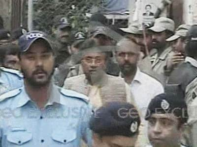 Video : Former Pak President Musharraf arrested from his farmhouse