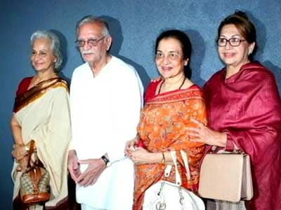 Video : Four's company: Gulzar, Waheeda, Asha, Helen