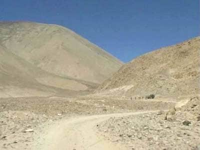 Video : Chinese troops intrude into Indian territory in eastern Ladakh
