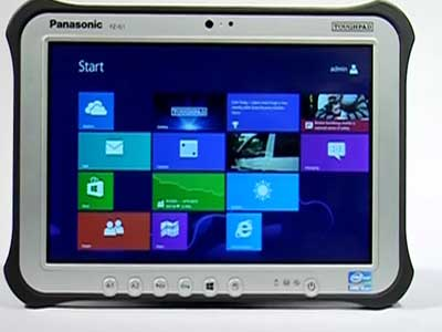 Video : Windows 8 tablets for the road warrior