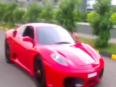 Video : Kerala 9-year-old drives Ferrari, creating furore
