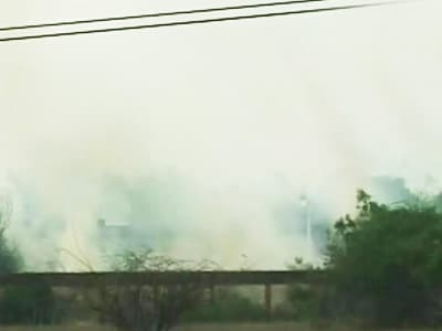 Video : Odisha: Fire at defence research facility in Chandipur, no casualties