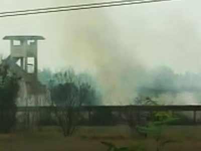 Video : चांदीपुर : मिसाइल टेस्ट रेंज इलाके में आग