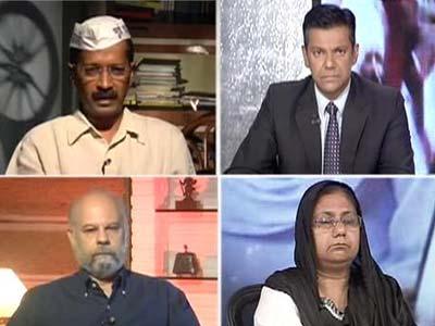Video : Arvind Kejriwal reaffirms his support for Sajjan Kumar's protestors