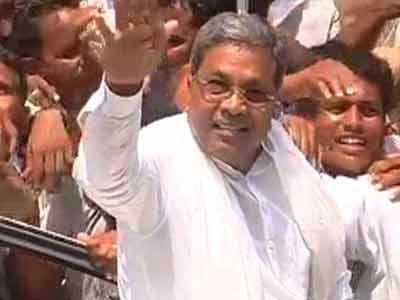 Video : I'm a strong contender: Siddaramaiah