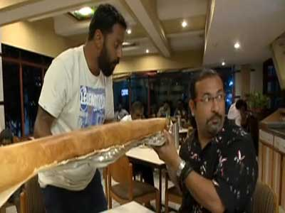 Video : Promo: Rocky and Mayur taste the delicious Andhra thali