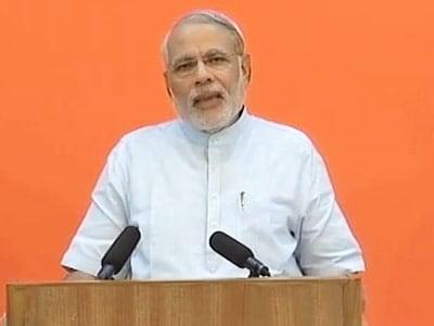 Video : Narendra Modi addresses Indian diaspora in US