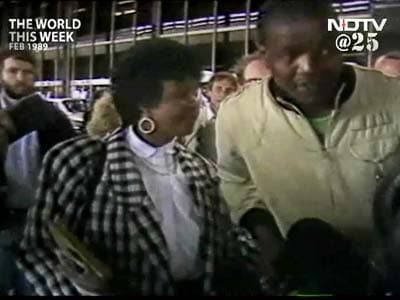 Video : The World This Week: Winnie Mandela in trouble (Aired: February 1989)
